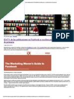El 67% de Las Publicaciones en Facebook Se Escriben Para Un Nivel de Lectura de Primaria