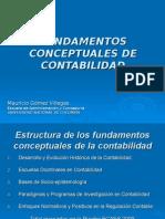 Fundamentos Conceptuales de Contabilidad
