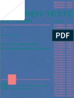 Fundamentals of Density Functional Theory, The - H. Eschrig