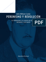 Peronismo y Revouci n John William Cooke