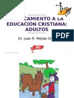 Acercamiento La Educacion Cristiana Para Adultos