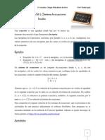 Trabajo Práctico Sistema de Ecuaciones