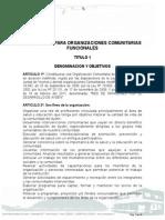 Estatutos Red de Patagones Por El Desarrollo de Aysén
