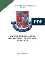 Manualzxz de Formatura DEDC XII