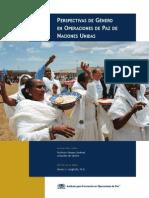 Conflictos de género en las misiones de paz