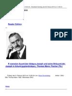 Thomas Mann Rezension