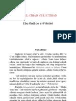 EL-CİHAD VE-L İCTİHAD-Ebu Katâde el-Filistinî-www.davetvecihad.com