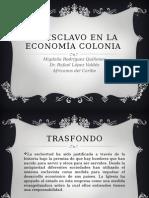 El Esclavo en La Economía Colonial