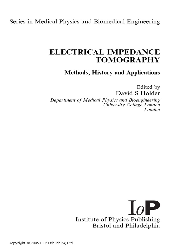 Holder Electrical Impedance Tomography Ct Scan 825 Likewise Dcc Track Wiring Diagrams On For Model Trains Resistivity And Conductivity