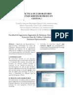 Laboratorio Proxy montaje en Sistema operativo CentOS