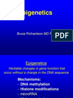 Bruce Richardson Epigenetics