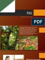 fall presentation