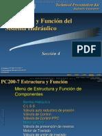 Curso Estructura Funcion Sistema Hidraulico Excavadora Pc200 210 220 Komatsu