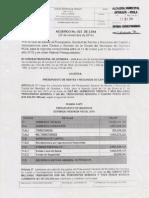 Proyecto de Acuerdo No 023 ( 28 de Noviembre de 2014 )