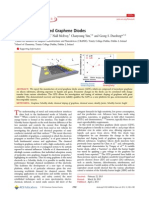 Chemically Modulated Graphene Diodes