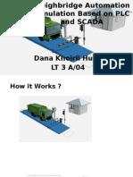 Simulasi Otomasi Jembatan Timbang Berbasis PLC dan SCADA