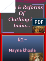 clothing (ppt) by nayna