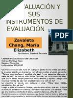 La Evaluación y sus Instrumentos