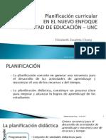 Planificación Curricular 2015 para UNC