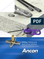 Concrete Lifting Fixing Anchoring Systems