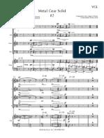 Metal Gear Solid Choir