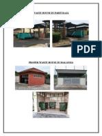 Waste House in Parit Raja
