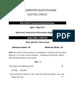 3rd Sem Electric Circuit