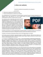 Autismodiario.org-Signos Tempranos en Niños Con Autismo
