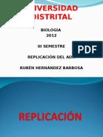 Replicación 2 Del ADN 2012