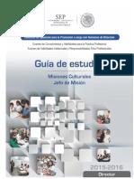 16- Director Misiones Culturales