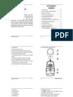 DL7030 Instruction Manual