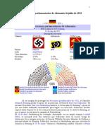 Elecciones Parlamentarias de Alemania de Julio de 1932