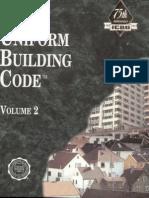 1997 Uniform Building Code Volume - 2