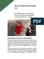 A 70 Años de La Victoria Soviética Sobre Los Fascistas