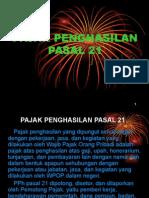 PAJAK PENGHASILAN PASAL 21.ppt