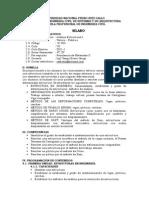 Analisis Estructural i - Silabo 2011 - i A