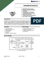 SENSOR PRESION-MS5534 (Igual Que HP03, Pero Más Detallado)