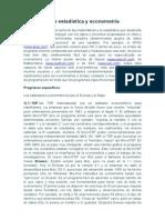 Reporte de Sofware de Aplicacion en Econometria