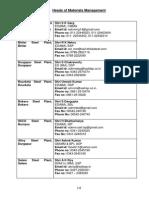 SAIL MM Directory