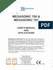 Electromedicarin Megasonic 700,707 - User Manual
