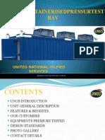 Pressure Test Container PTU 02