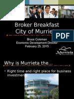 Broker Breakfast 02-25-15