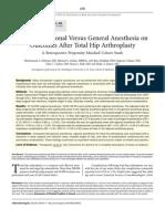 anestesi umum dan artoplasti