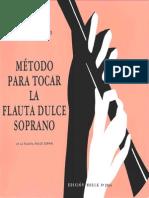 Metodo Para Tocar La Flauta Dulce Soprano
