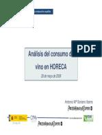 Análisis del consumo de vino en horeca (OEMV+PWC)