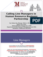 Line Managers