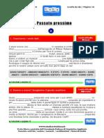 Passato Prossimo - Esercizi PDF