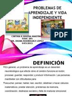 problemas de aprendizaje y vida independiente