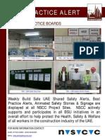 81 Bsu Best Practice Alert - Safety Notice Boards
