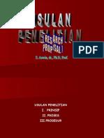 Usulan Penelitian Rev.(Modified 17 Juli 07)